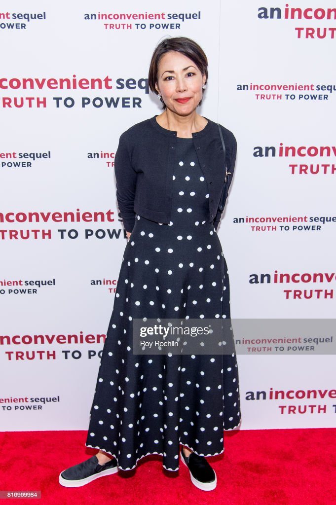 Ann Curry attends 'An Inconvenient Sequel: Truth To Power' New York screening at the Whitby Hotel on July 17, 2017 in New York City.
