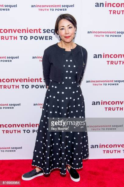 Ann Curry attends 'An Inconvenient Sequel Truth To Power' New York screening at the Whitby Hotel on July 17 2017 in New York City