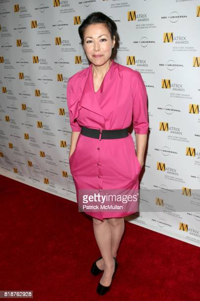 Ann Curry attends New York WOMEN IN COMMUNICATIONS Presents The 2010 MATRIX AWARDS at Waldorf Astoria on April 19 2010 in New York City