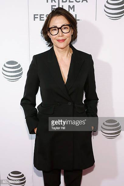 Ann Curry attends the premiere of 'Elvis Nixon' at Borough of Manhattan Community College during the 2016 TriBeCa Film Festival on April 18 2016 in...