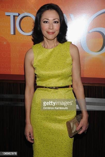 Ann Curry attends the 'TODAY' Show 60th anniversary celebration at The Edison Ballroom on January 12 2012 in New York City