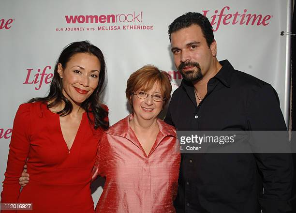Ann Curry Betty Cohen Lifetime president and CEO and Ricardo Antonio Chivara
