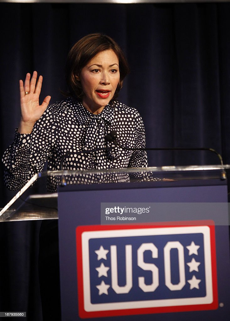 <a gi-track='captionPersonalityLinkClicked' href=/galleries/search?phrase=Ann+Curry&family=editorial&specificpeople=215356 ng-click='$event.stopPropagation()'>Ann Curry</a>, correspondent/anchor of NBC News National and International and medal of honor recipient attends the USO Woman Of The Year Luncheon at The Pierre Hotel on May 2, 2013 in New York City.