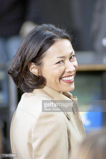 Ann Curry during Big Rich Perform on the 'Today' Show March 17 2006 at New York City in New York City NY United States