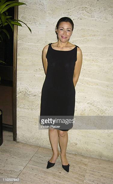 Ann Curry during Newsweek Party for The Republican Convention Given by Lally Weymouth at The Four Seasons Restaurant in New York New York United...