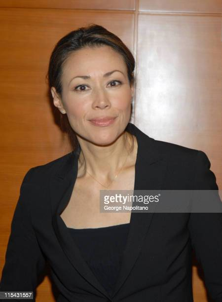 Ann Curry during 'Not On Our Watch' Book Signing with John Prendergast and Don Cheadle at the New York Tolerance Center May 1 2007 at New York...