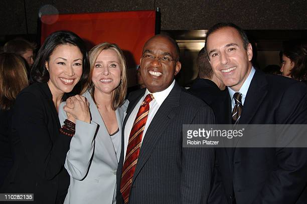 Ann Curry Meredith Vieira Al Roker and Matt Lauer of The Today Show