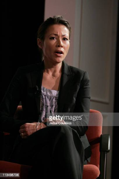 Ann Curry speaks during the Reuters Newsmakers Panal Discussion on the state of Darfur held at the New York Historical Society on May 24 2007 in New...