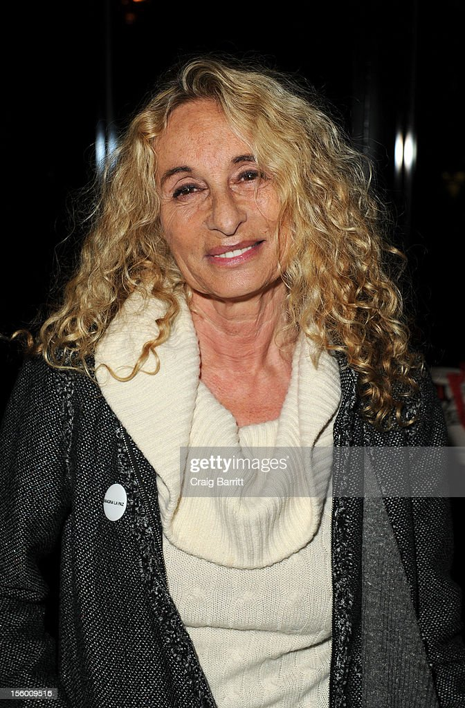 Ann Dexter Jones attends 'Sing Me The Songs That Say I Love You: A Concert For Kate McGarrigle' premiere after party at Tribeca Grand Hotel on November 10, 2012 in New York City.