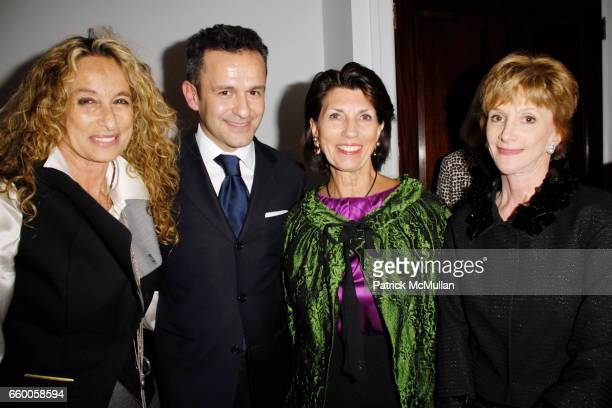 Ann Dexter Jones Paolo Costagli Pamela Fiori and Jacqueline Weld Drake attend PAOLO COSTAGLI and TOWN AND COUNTRY Host a Cocktail Party to Benefit...