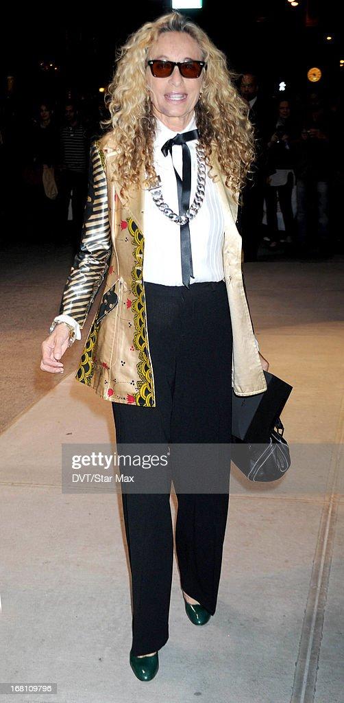 Ann Dexter-Jones seen on May 4, 2013 in New York City.
