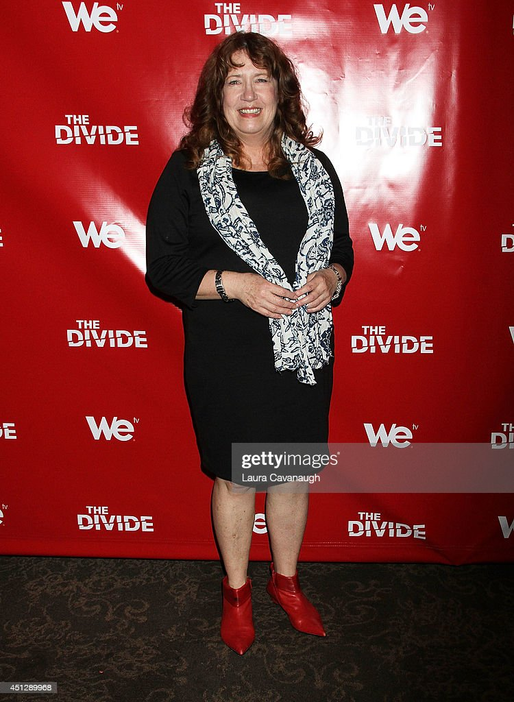 Ann Dowd attends 'The Divide' series premiere at Dolby 88 Theater on June 26, 2014 in New York City.