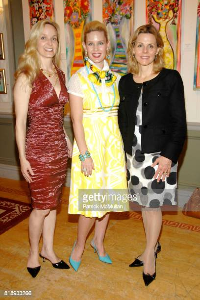 Ann Hale MichelleMarie Heinemann and Kirsten Morgan attend MICHELLEMARIE HEINEMANN and TERRI LINDVALL'S Lecture and Private Dinner to benefit the...