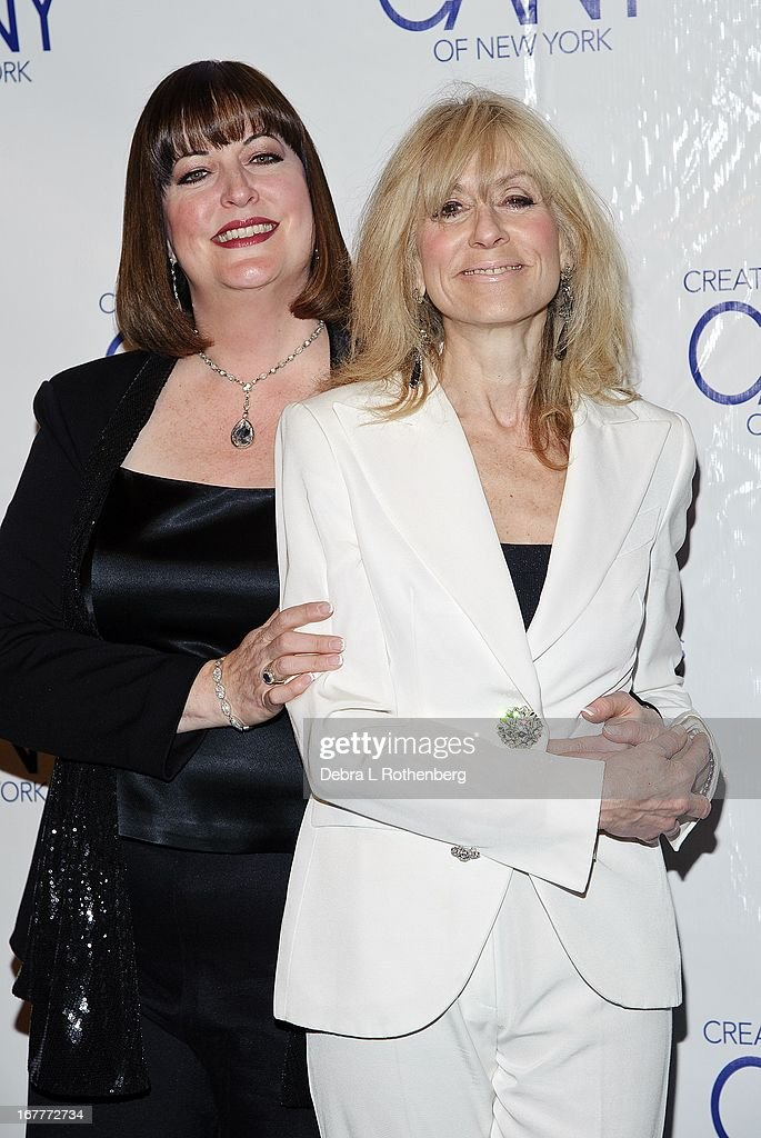 Ann Hampton Callaway and <a gi-track='captionPersonalityLinkClicked' href=/galleries/search?phrase=Judith+Light&family=editorial&specificpeople=214207 ng-click='$event.stopPropagation()'>Judith Light</a> attend The Pearl Gala 2013 at The Edison Ballroom on April 29, 2013 in New York City.