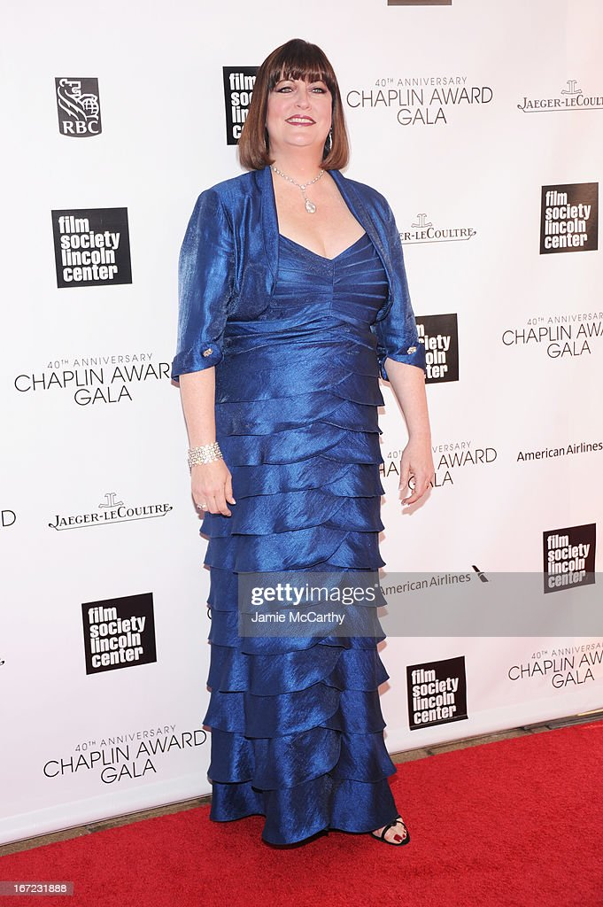 Ann Hampton Callaway attends the 40th Anniversary Chaplin Award Gala at Avery Fisher Hall at Lincoln Center for the Performing Arts on April 22, 2013 in New York City.