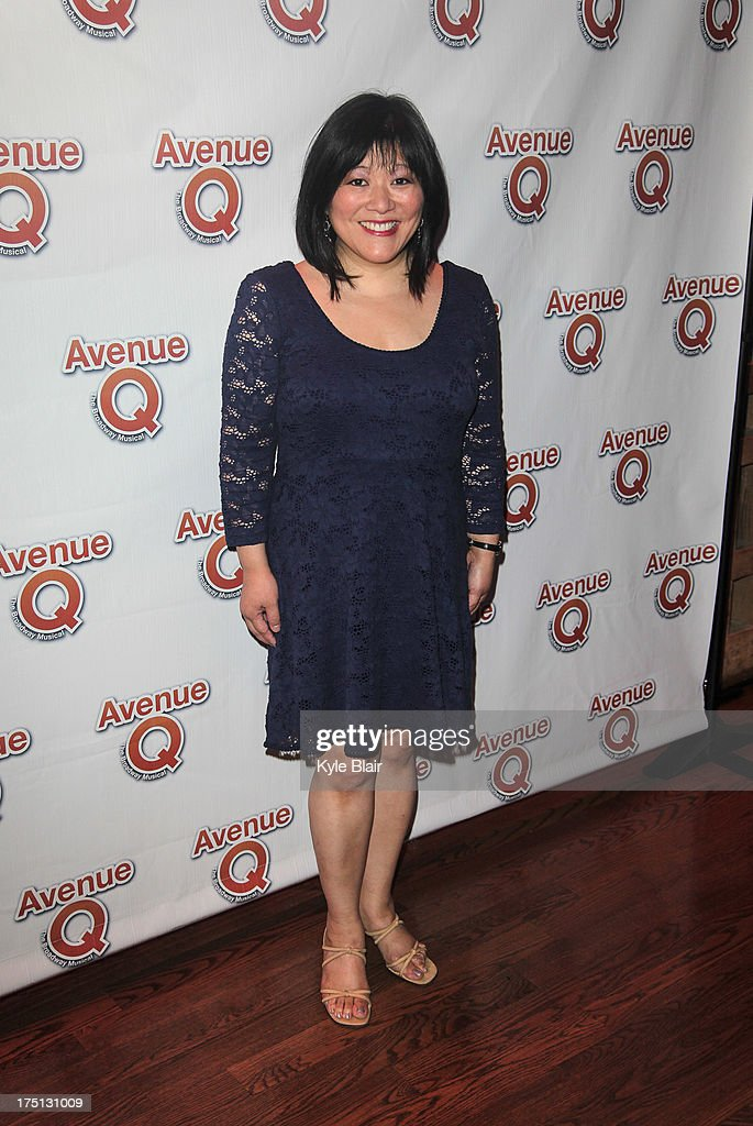 Ann Harada attends the 'Avenue Q' 10th year anniversary performance at New World Stages on July 31, 2013 in New York City.