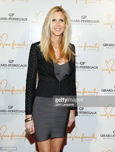 Ann Hart Coulter attends We Are Family Foundation 2014 Gala at Hammerstein Ballroom on March 6 2014 in New York City
