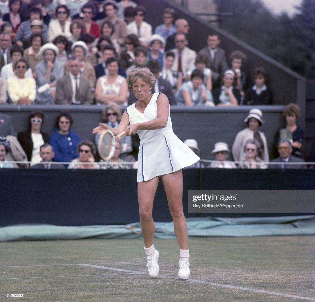 Ann Haydon At Wimbledon