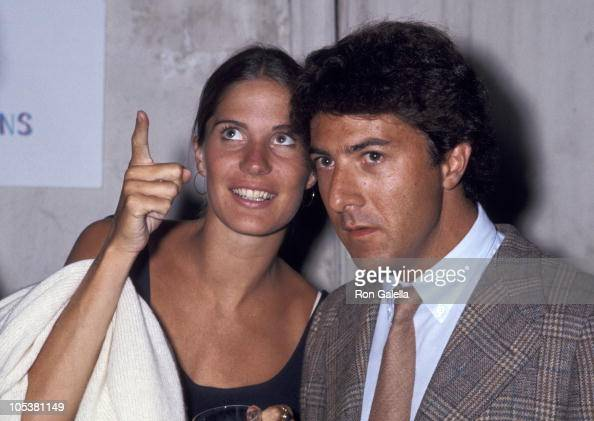 Ann Hoffman and Dustin Hoffman during 'Goodell' New York City Premiere at Kessler House in New York City New York United States