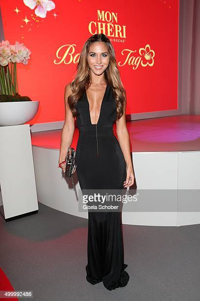 Ann Kathrin Broemmel girlfriend of Mario Goetze attends the Mon Cheri Barbara Tag 2015 at Postpalast on December 4 2015 in Munich Germany