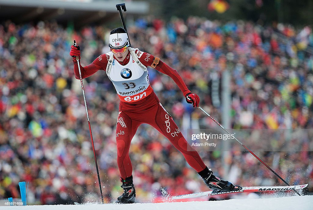 Ann Kristin Aafedt Flatland of Norway on in action during the womens individual 15km on day three of the E.On IBU World Cup Biathlon on January 10, 2014 in Ruhpolding, Germany.