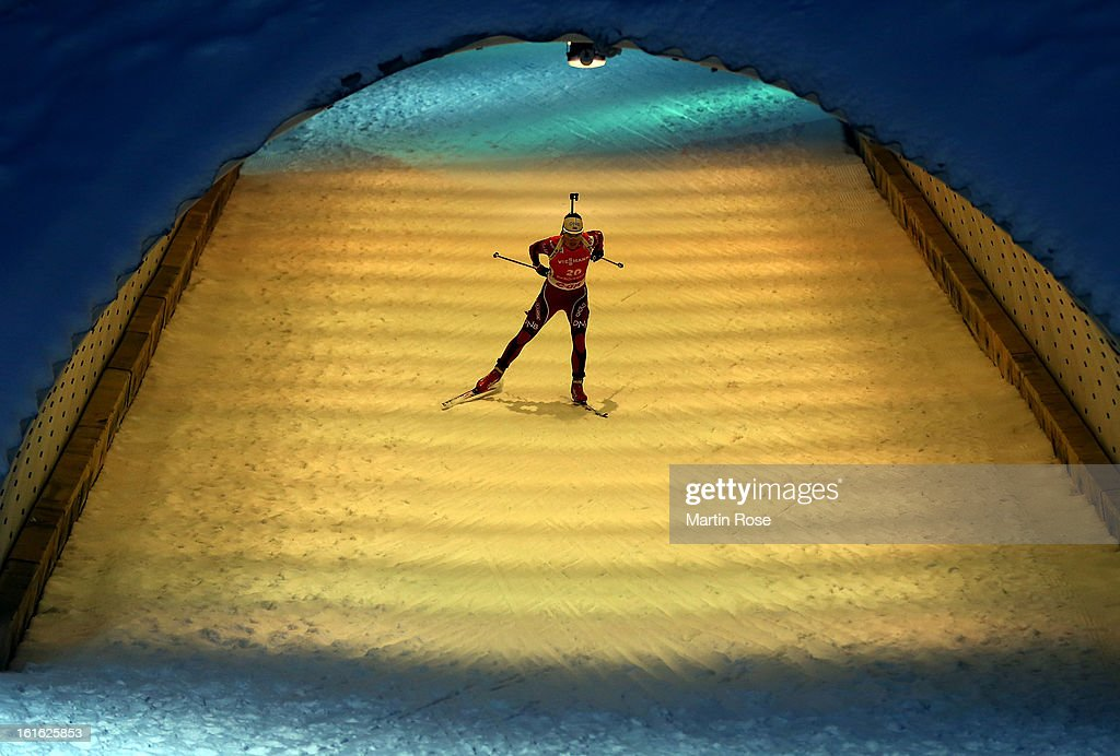 Ann Kristin Flatland of Norway competes in the Women's 15km Individual during the IBU Biathlon World Championships at Vysocina Arena on February 13, 2013 in Nove Mesto na Morave, Czech Republic.