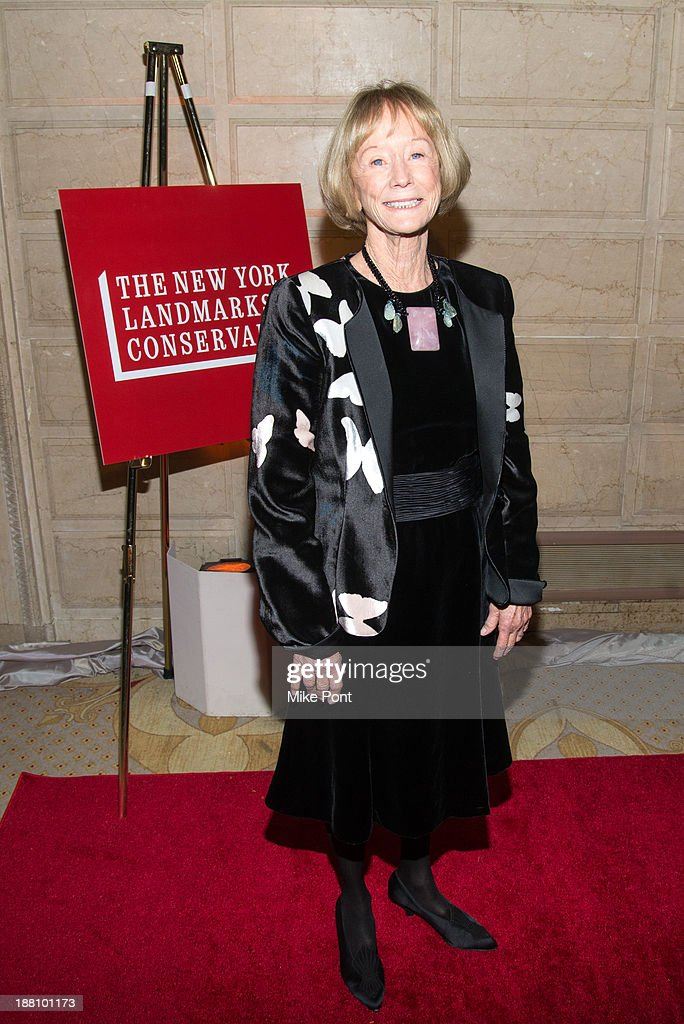 Ann L. Buttenwieser attends the 20th New York Landmarks Conservancy's Living Landmarks Ceremony at The Plaza Hotel on November 14, 2013 in New York City.