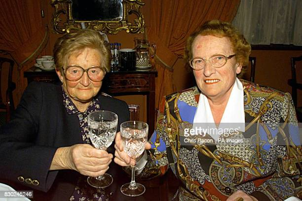 Ann McEnerney and May Feganthe only two surviving members of the original group of ten office staff at the Varian Brush company in the Irish capital...