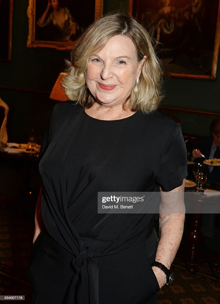 Ann Mitchell attends the press night after party for 'A View From Islington North' at The Garrick Club on May 24, 2016 in London, England.