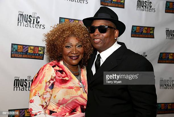 Ann Nesby and Jimmy Jam attend the NMAAM 2016 Black Music Honors on August 18 2016 in Nashville Tennessee