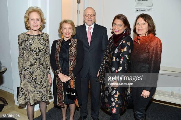 Ann Nitze Emily Frick Harold Braun Muna Rihani AlNasser and Ute Braun attend the UN Women For Peace Association's Reception to Celebrate 2017 Award...