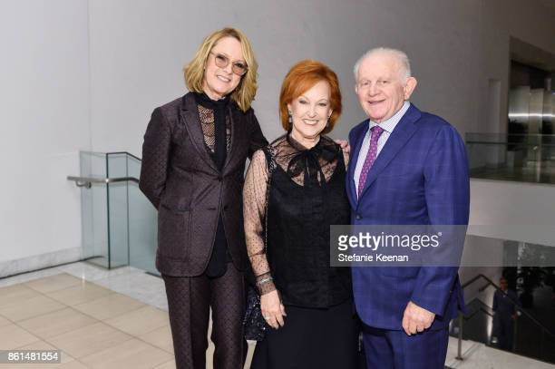 Ann Philbin Alice Lainer and Nahum Lainer at the Hammer Museum 15th Annual Gala in the Garden with Generous Support from Bottega Veneta on October 14...