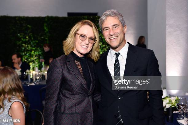 Ann Philbin and Michael Govan at the Hammer Museum 15th Annual Gala in the Garden with Generous Support from Bottega Veneta on October 14 2017 in Los...