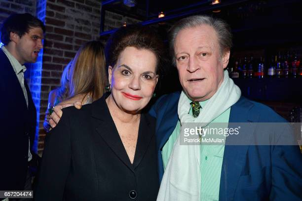 Ann Rapp and Patrick McMullan attend Jean Shafiroff hosts Surprise Party for Patrick McMullan at 49 West 20th Street on March 17 2017 in New York City