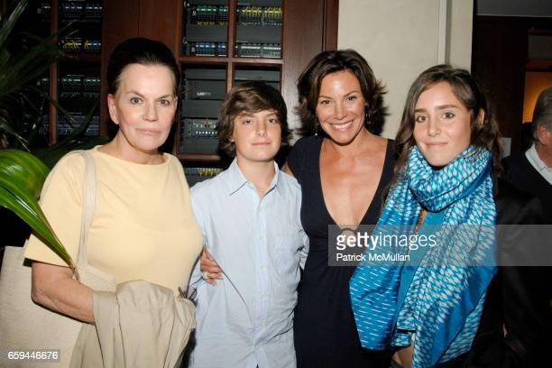 Ann Rapp Noel de Lesseps Countess LuAnn de Lesseps and Victoria de Lesseps attend Special Preview Screening of 'A PASSION FOR GIVING' by ROBIN BAKER...