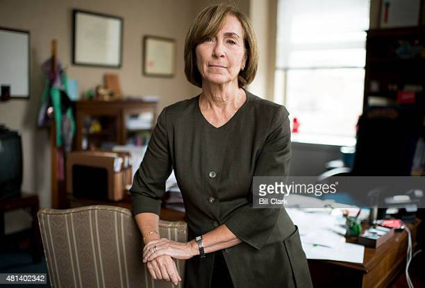 Ann Ravel Chair of the Federal Election Commission poses in her office at the FEC in Washington on Friday July 17 2015