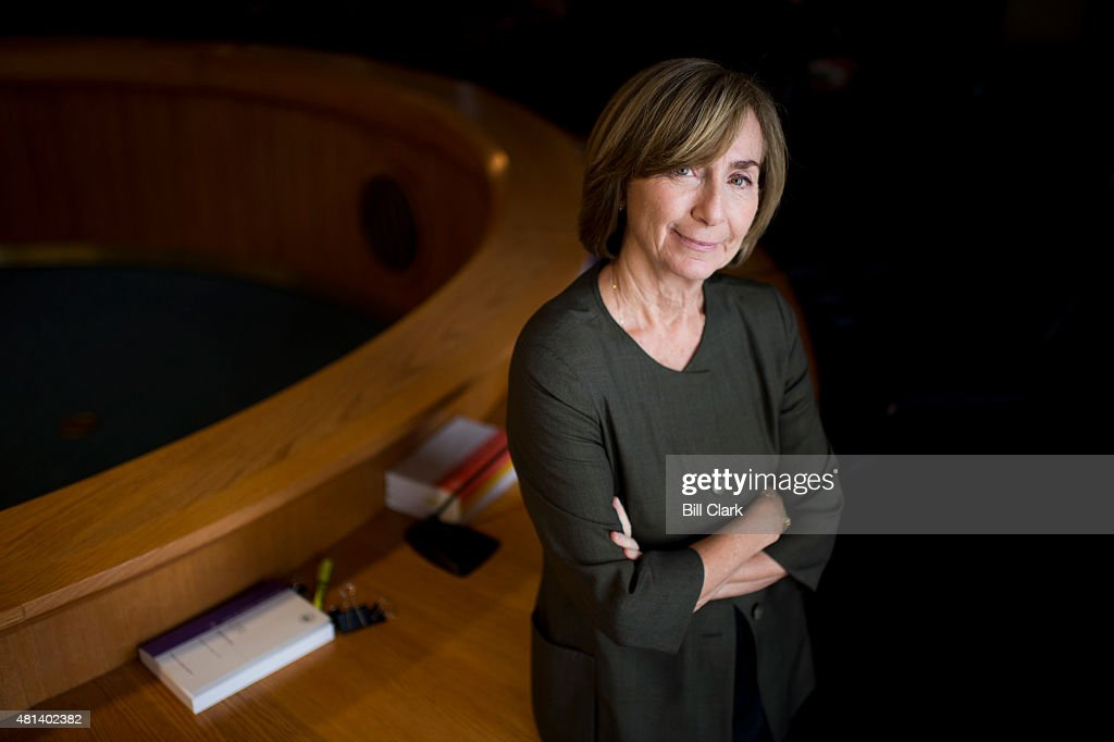 Ann Ravel Chair of the Federal Election Commission poses in the FEC hearing room in Washington on Friday July 17 2015