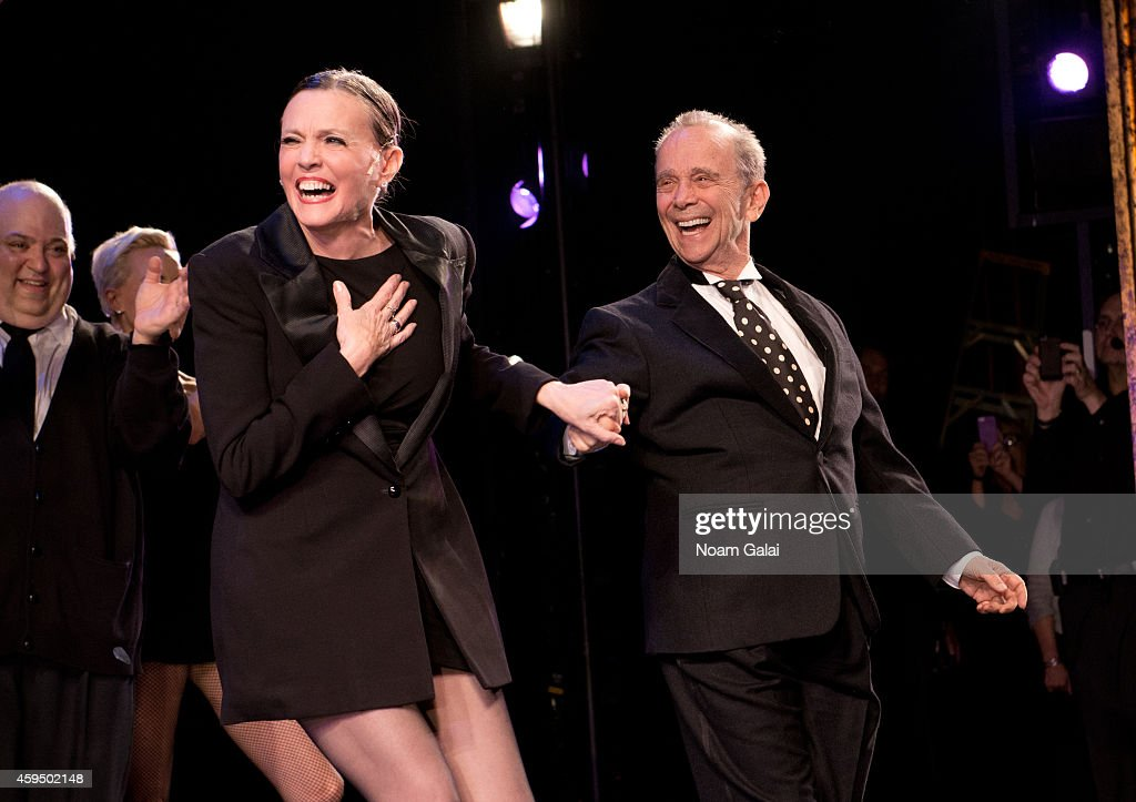 Ann Reinking and Joel Grey perform at the 7,486th performance of 'Chicago', the second longest running Broadway show of all time at Ambassador Theater on November 23, 2014 in New York City.