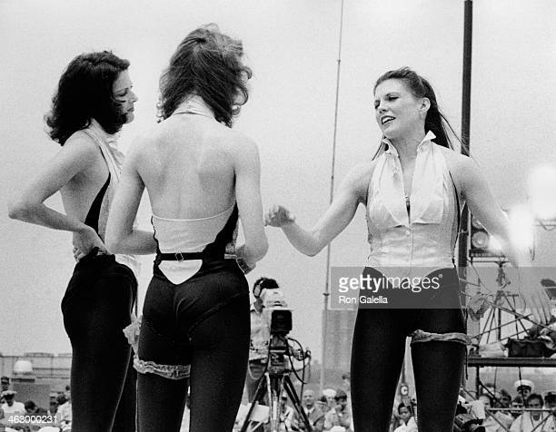Ann Reinking attends the taping of 'USO Honors Bob Hope' on May 27 1978 aboard the USS Iwo Jima in New York City
