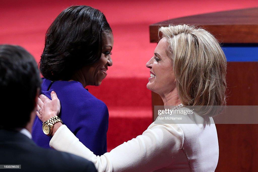 Obama And Romney Square Off In First Presidential Debate In Denver