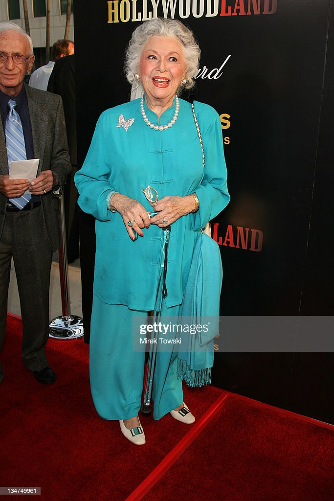 Ann Rutherford during 'Hollywoodland' Los Angeles Premiere - Arrivals at Academy of Motion Picture Arts and Sciences in Hollywood, California, United States.