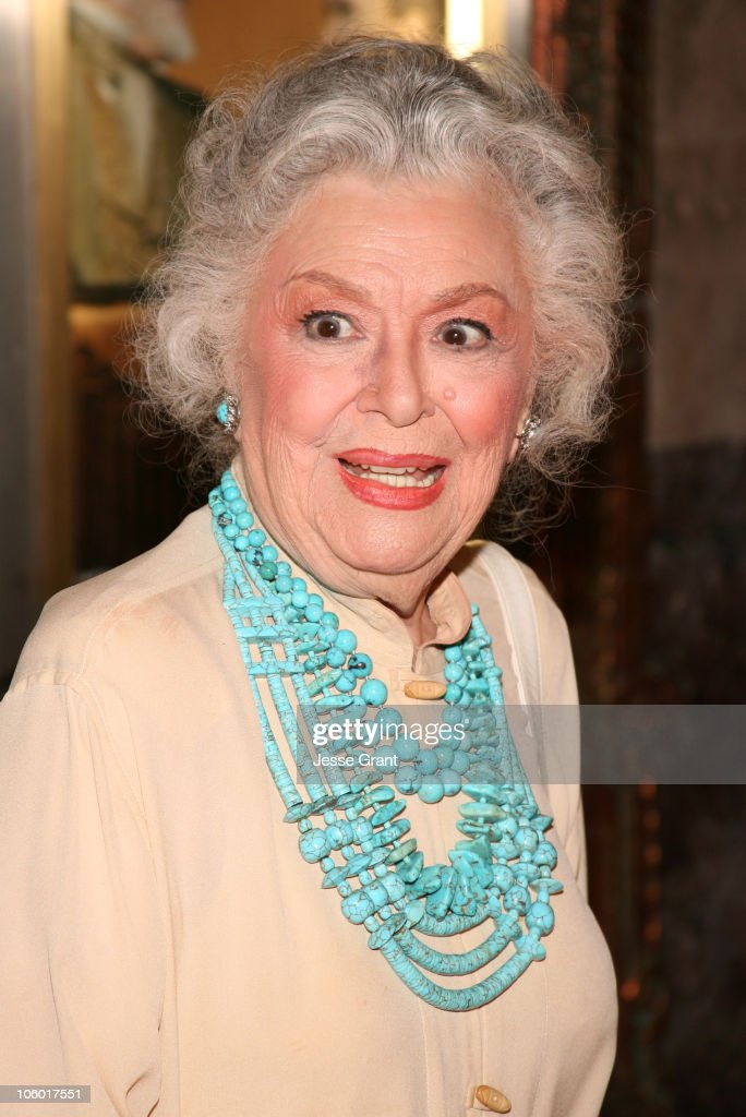 Ann Rutherford during 'Little Women: The Musical' Premiere - Arrivals at The Pantages in Hollywood, California, United States.