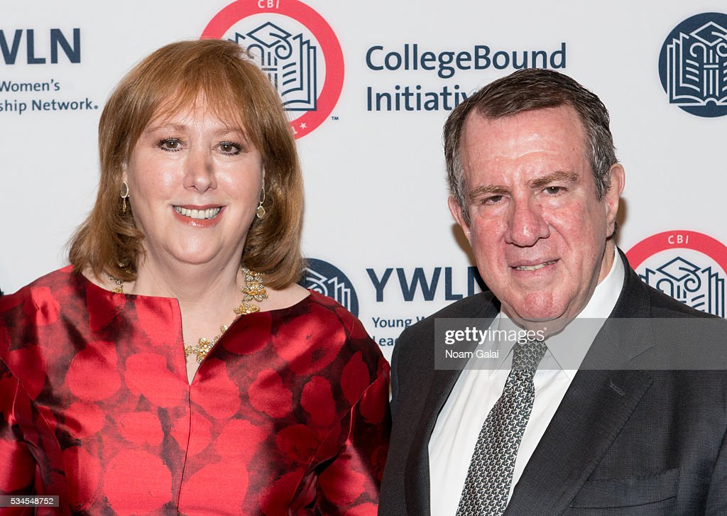 Ann Tisch and Andrew Tisch attend the 2016 CollegeBound Initiative celebration at Jazz at Lincoln Center on May 26, 2016 in New York City.