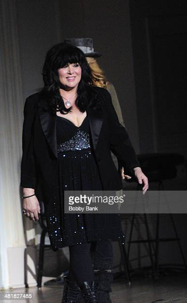 Ann Wilson of Heart attends The Music of Paul Simon at Carnegie Hall on March 31 2014 in New York City
