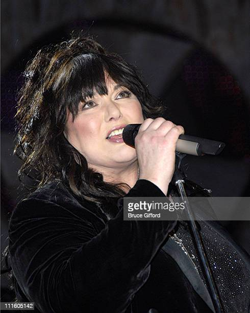 Ann Wilson of Heart during 2007 VH1 Rock Honors Rehearsals Day 2 at MGM Grand in Las Vegas Nevada United States