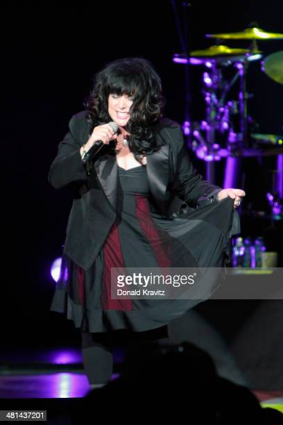 Ann Wilson of Heart performs at Caesars Atlantic City on March 29 2014 in Atlantic City New Jersey