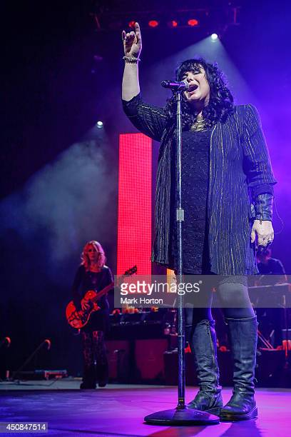 Ann Wilson of Heart performs live at the Canadian Tire Centre on June 18 2014 in Kanata Canada