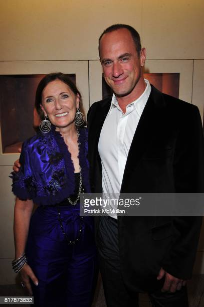 Ann Ziff and Chris Meloni attend Tamsen Z Store Opening Event at Tamsen Z Boutique NYC on September 21 2010 in New York City