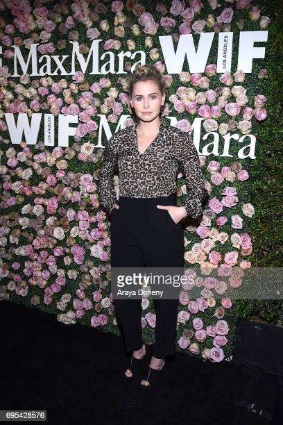 Anna Bamford attends the Max Mara Celebrates Zoey Deutch As The 2017 Women In Film Max Mara Face Of The Future Award Recipient event at Chateau...