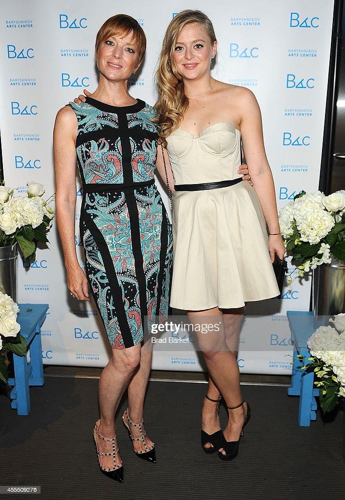 Anna Baryshnikov and Lisa Rinehart attend 2014 Baryshnikov Arts Center Fall Fete at Baryshnikov Art Center on September 15 2014 in New York City